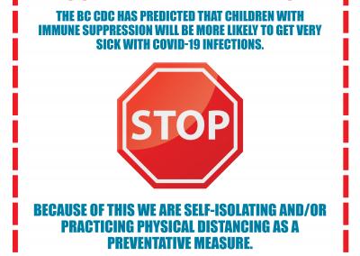 Door Sign - Child Health