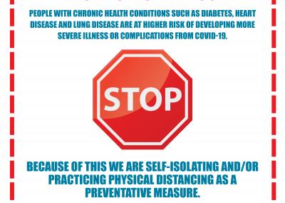 Door Sign - Chronic Illness